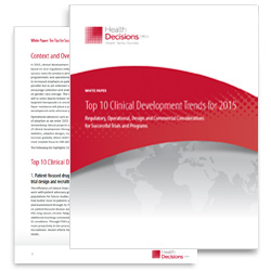 Top 10 Clinical Development Trends for 2015