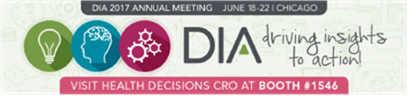 Health Decisions DIA banner