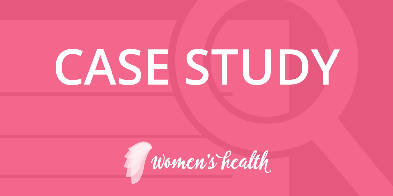 Health Decisions Women's Health Case Study Banner
