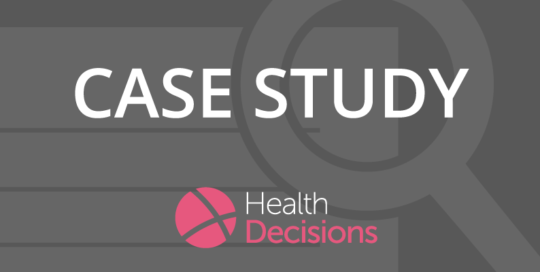 Health Decisions Case Study Banner