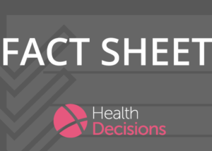 Health Decisions Banner Corporate Fact Sheet