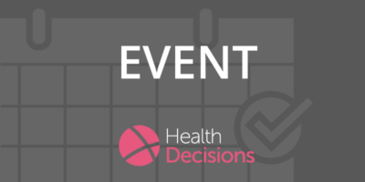 Health Decisions Corporate Event banner
