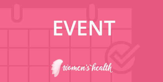 Health Decisions Women's Health Event banner