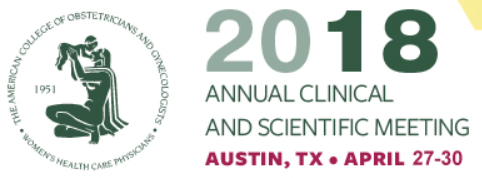 ACOG Annual Meeting Logo
