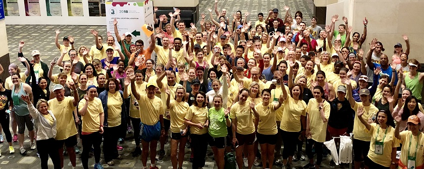 Walk for Women Participants ACOG 2018 Austin