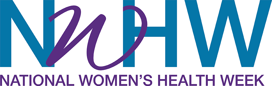National Women's Health Week 2018 logo