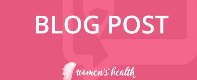 Womens sexual health blogs on blogger